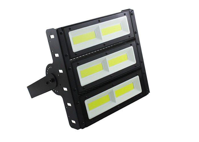 High Power COB Led Area Flood Lights White 6000K Toughened Glass For Parking Lot